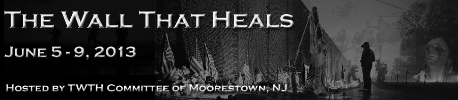 Vietnam Traveling Wall Moorestown NJ – The Wall That Heals