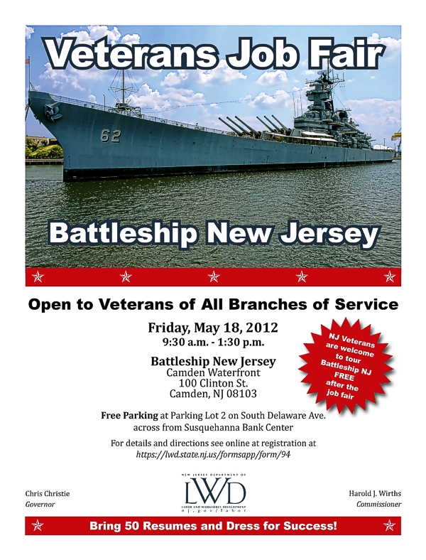 Veterans Job Fair Battleship NJ Patriot Connections