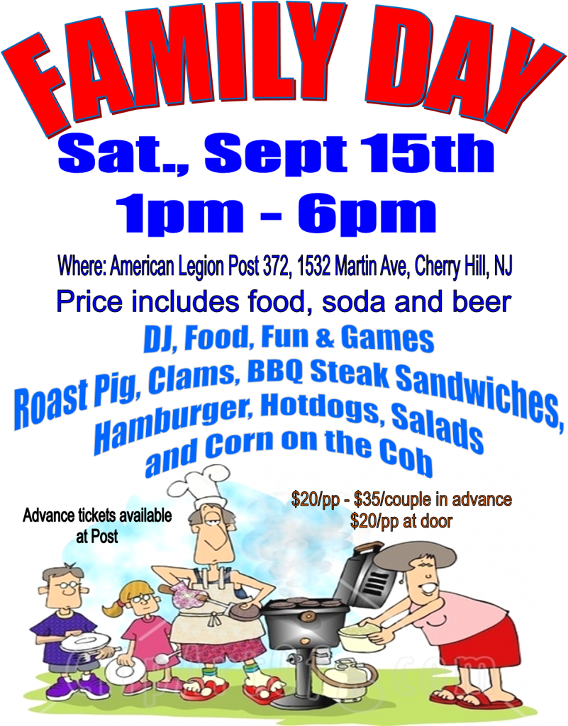 fc8d0e728 More details click on Family Day BBQ at American Legion Cherry Hill