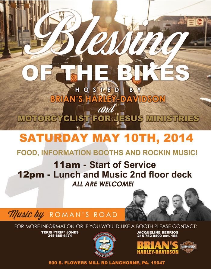 blessing of the bikes at brian's harley davidson – patriot connections