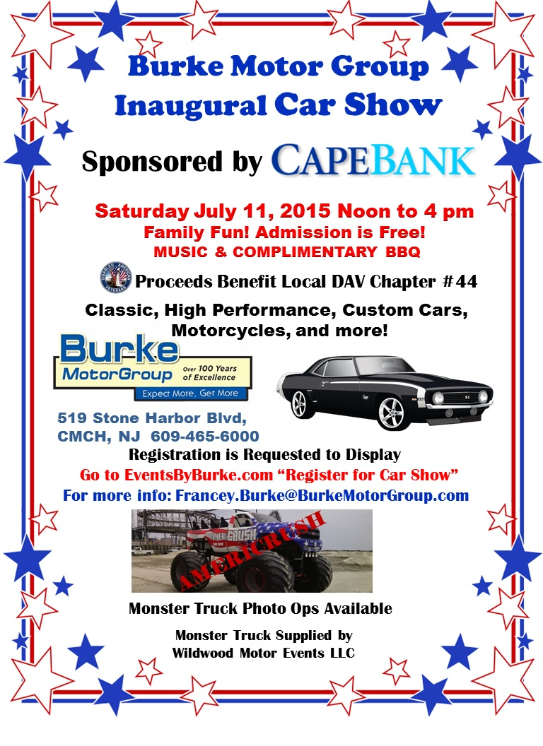 Burke Motor Group Inaugural Car Motorcycle Show Patriot