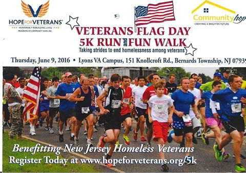 Veterans Flag Day 5K Run and Fun Walk – Patriot Connections