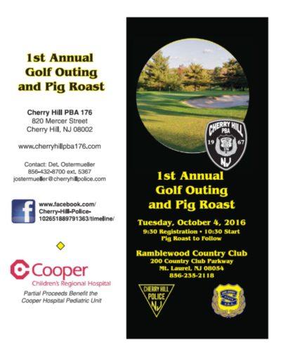 1st Annual Golf Tournament & Pig Roast - Cherry Hill PBA Local 176