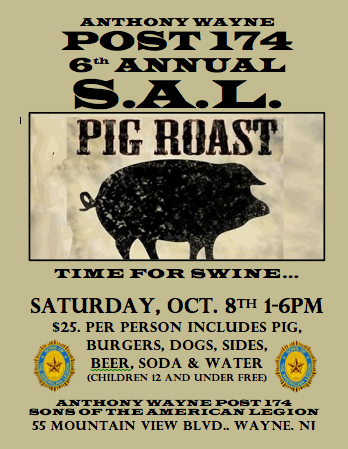 6th Annual Pig Roast - Amer Leg