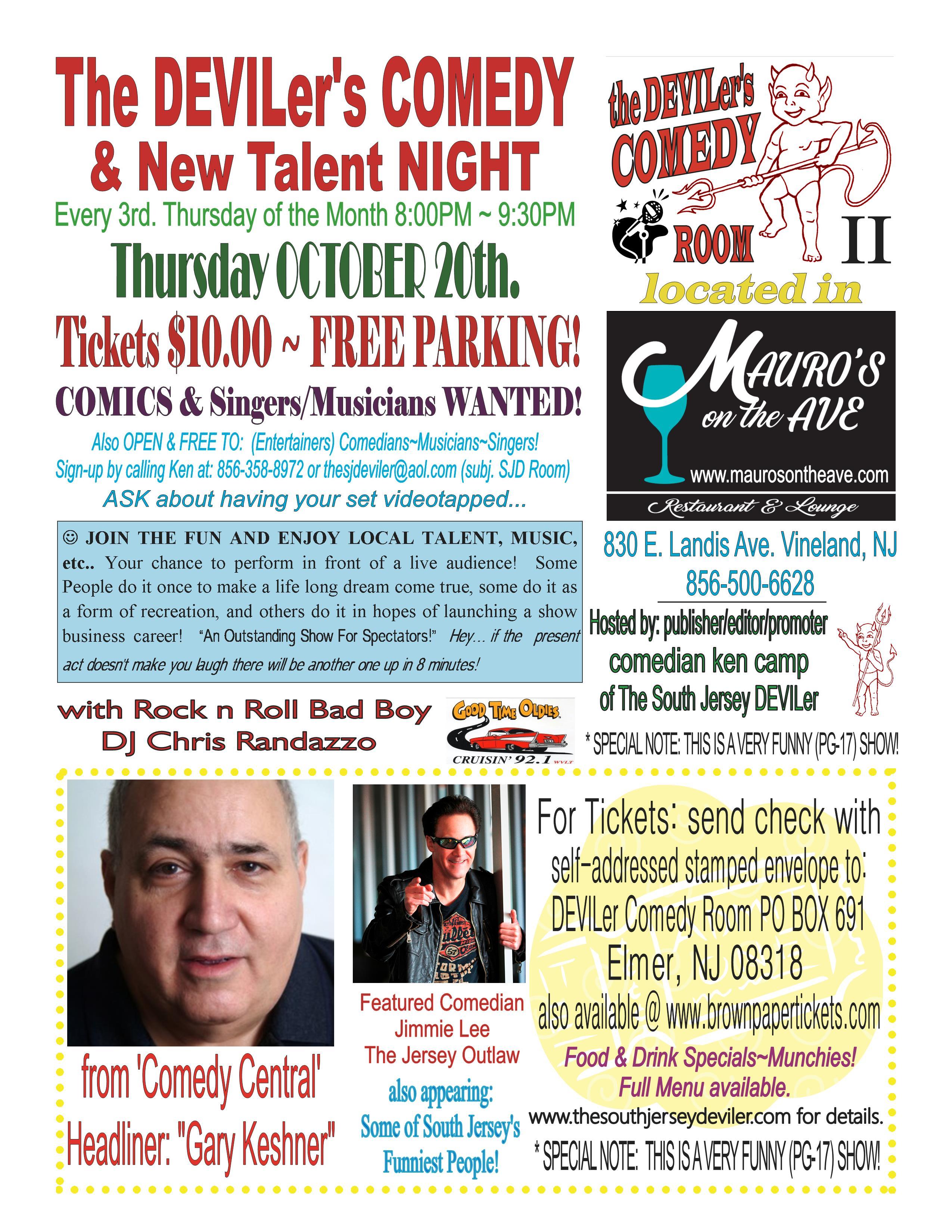 Comedy Night FUNraiser for Semper Fidlelis 204 Marine Corp League