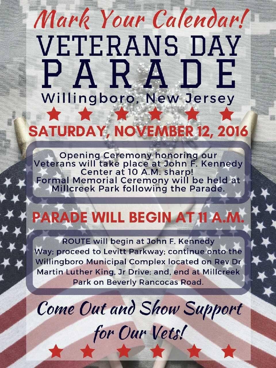 Veterans Day Parade -  Willingboro NJ