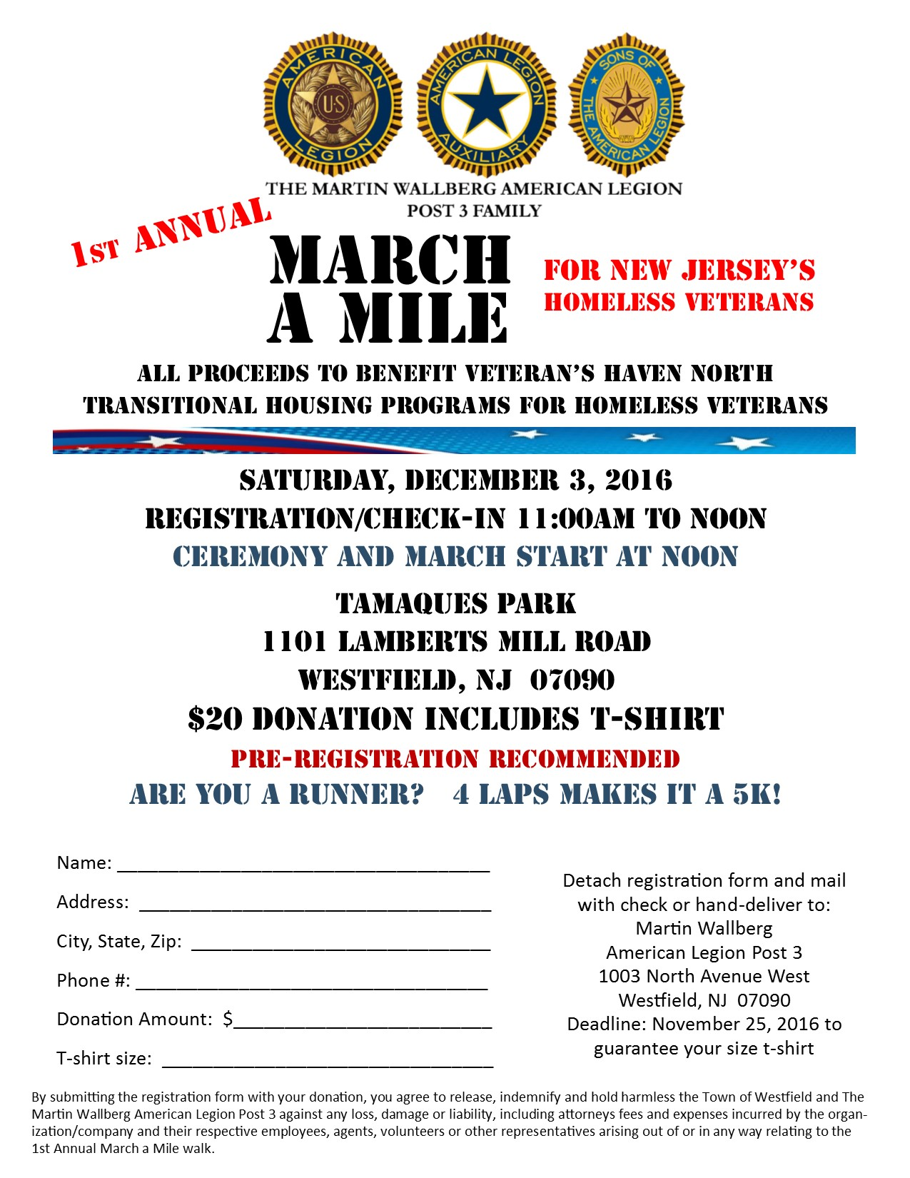 March a Mile