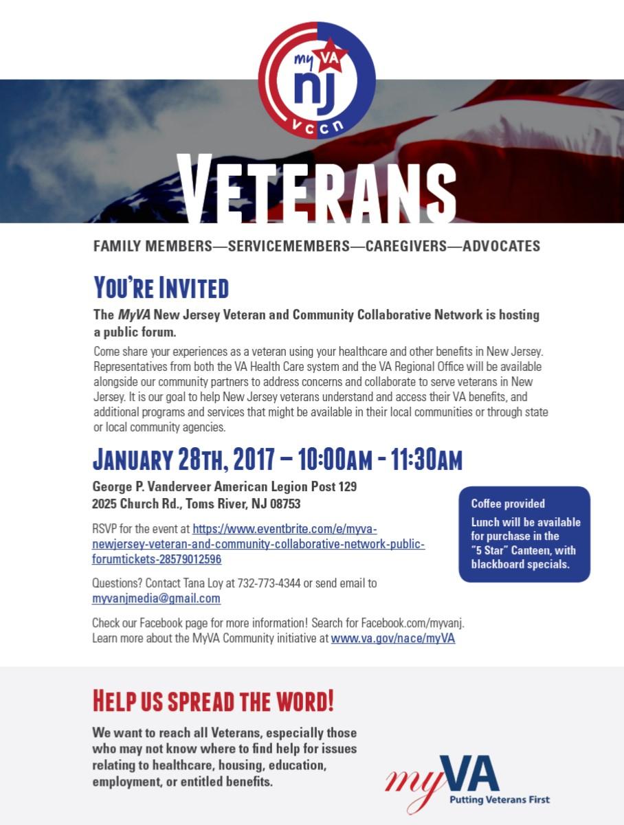 MyVA NJ Veterans and Community Network