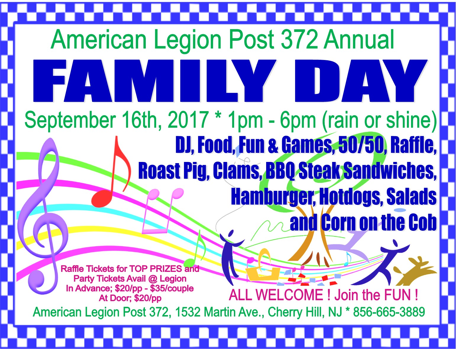 Annual Family Day at the Legion
