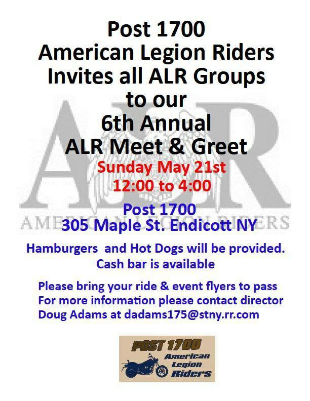 American Legion Riders Meet & Greet