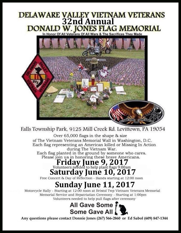 Donald W Jones 32nd Flag Memorial