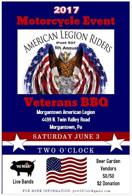 Motorcycle Event and Veterans BBQ