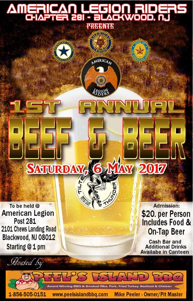 1st Annual Beef & Beer - Amer Leg