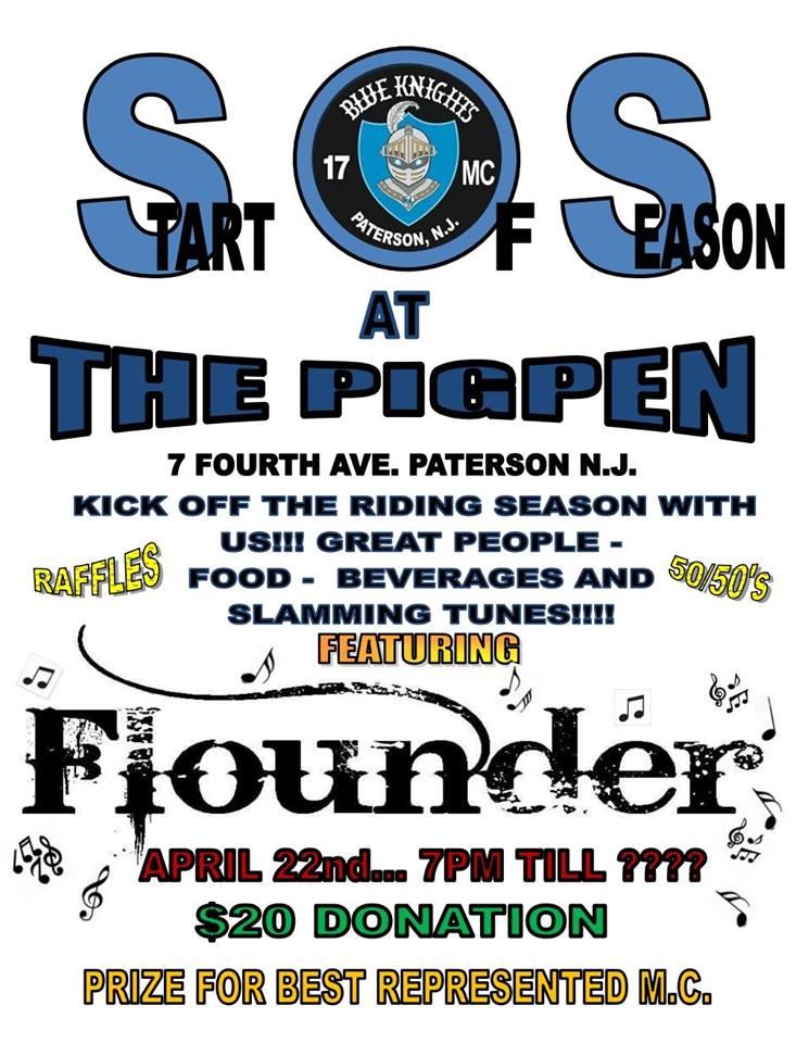 SOS at the PigPen - Blue Knights