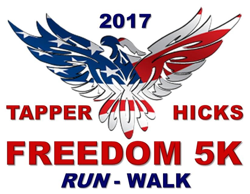 Tapper-Hicks Freedom 5K RUN / WALK