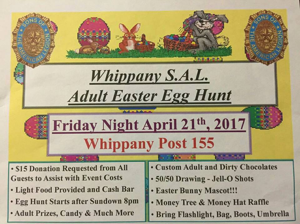 Adult Easter Egg Hunt - Amer Leg