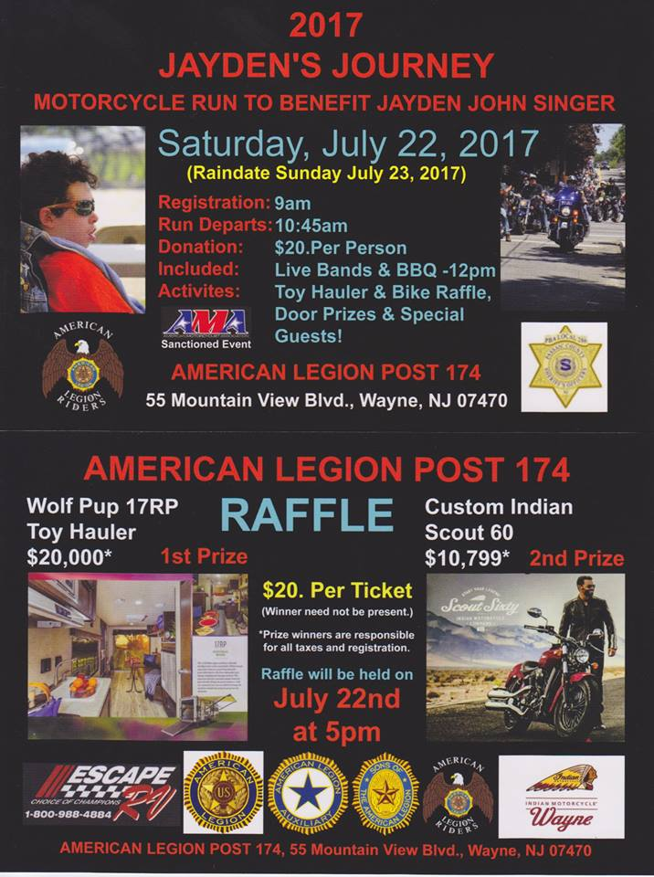 Jaydens Journey Ride & BBQ - Amer Leg