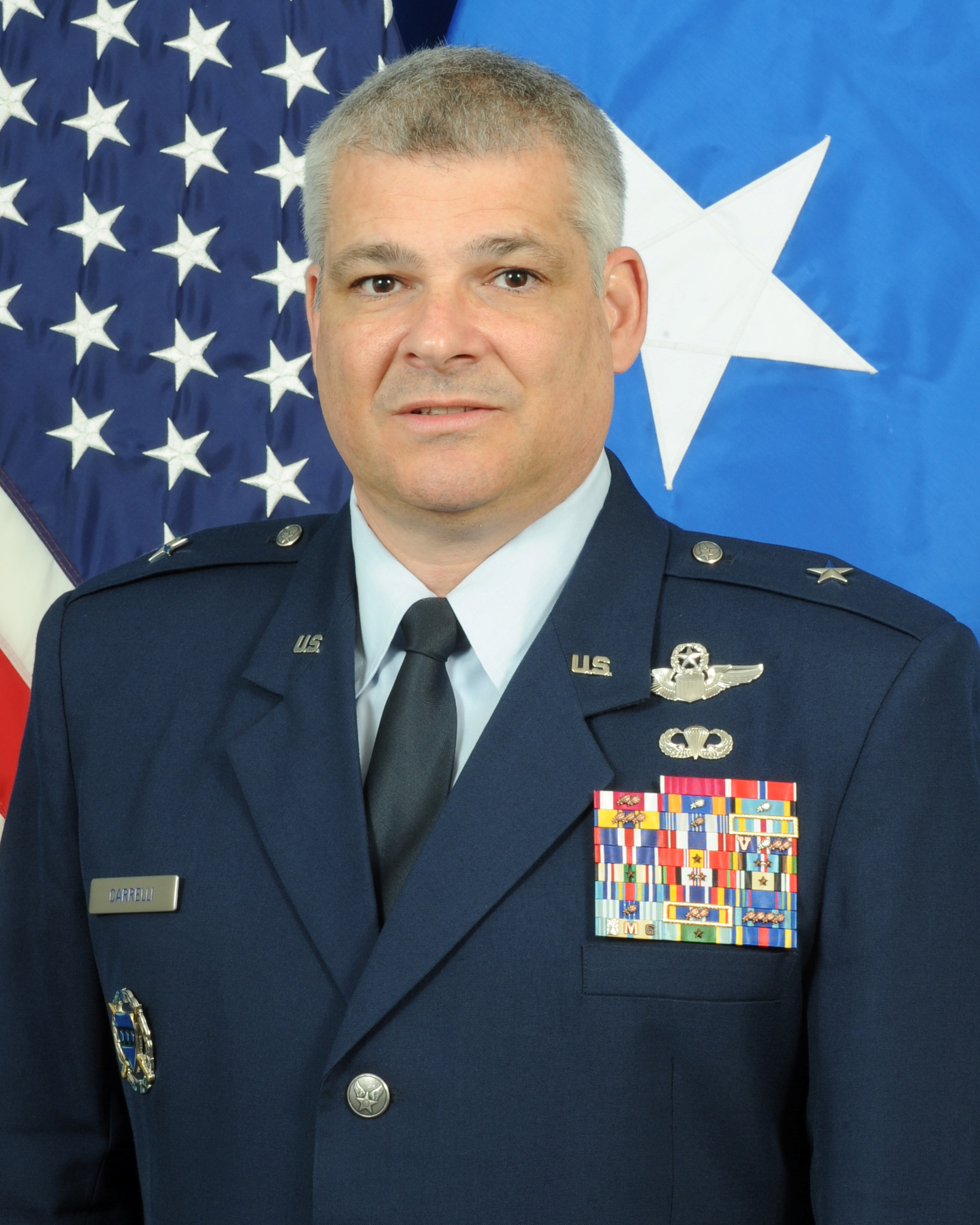 Armed Forces Day Luncheon with Brigadier General Anthony J Carrelli, USAF