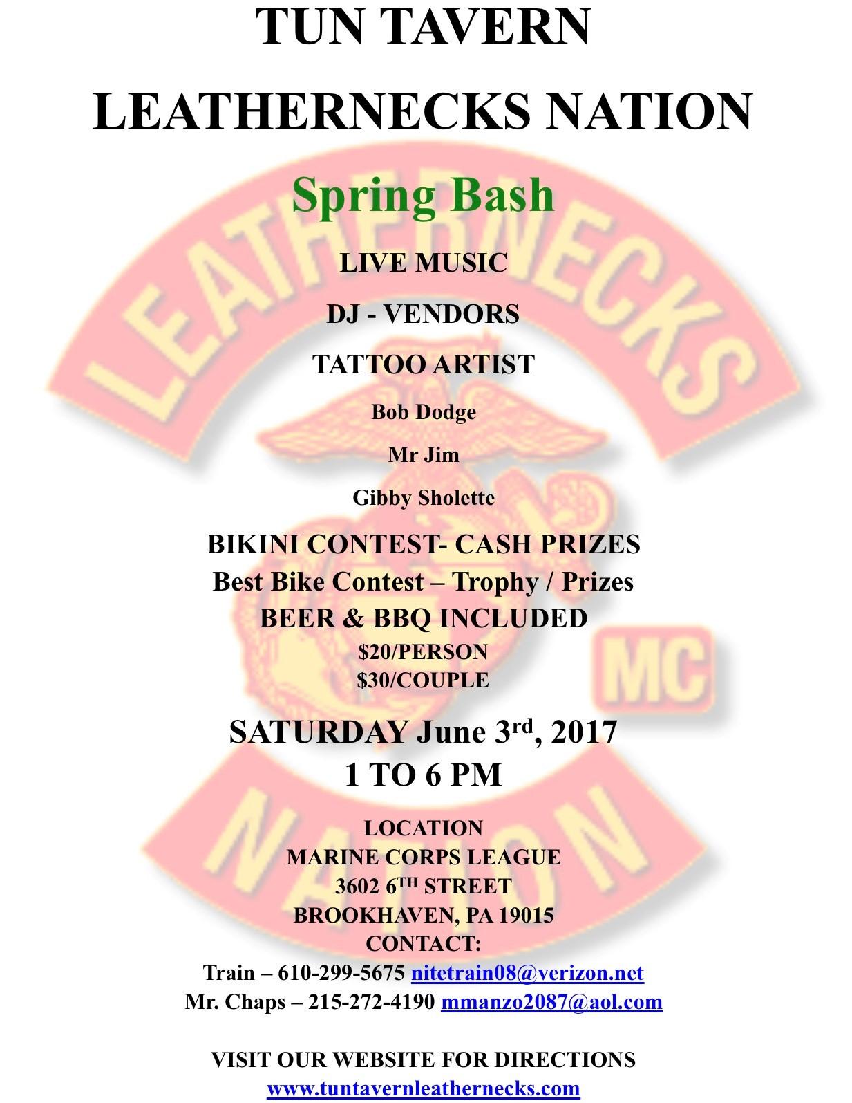 Spring Bash - Leathernecks MC