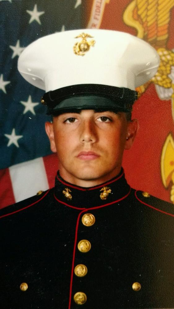 Honor Mission Escort USMC Tyler Wechsler