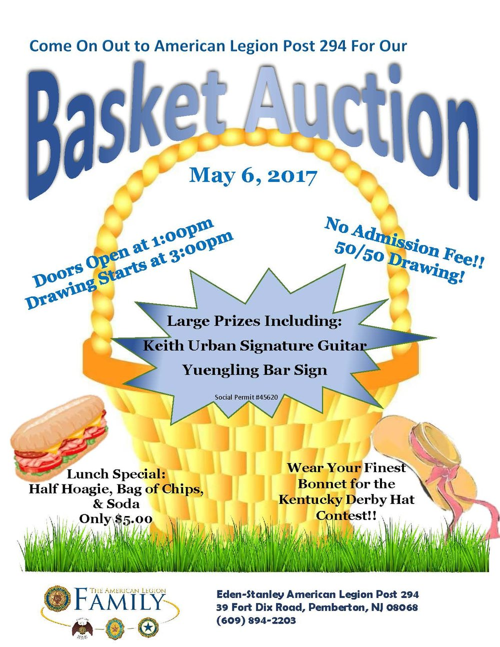 Basket Auction - Amer Leg