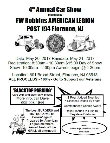 American Legion Post 194 Classic Car Show