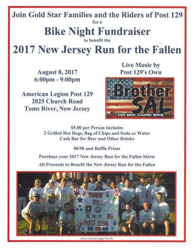 Bike Night for NJ Run for the Fallen