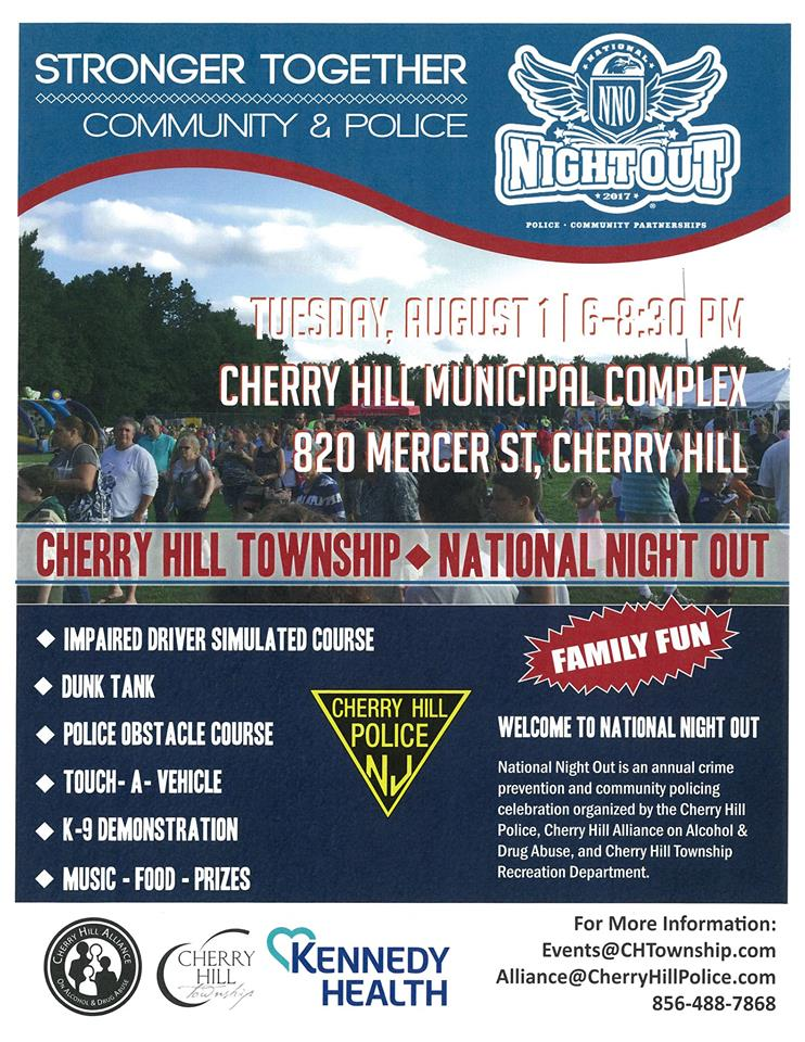 Cherry Hill Police - National Night Out