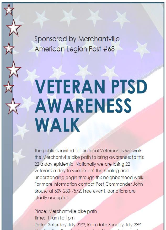 Veteran PTSD / Suicide Awareness walk
