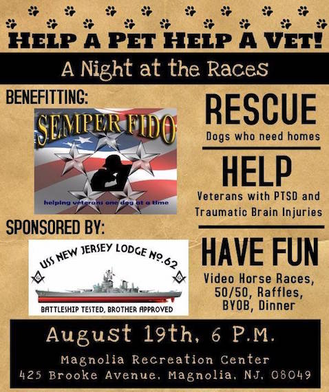 A Night at the Races - Benefit for Semper Fido