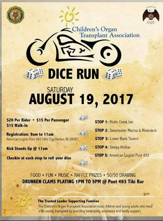 Dice Run - Amer Legion Mystic Island