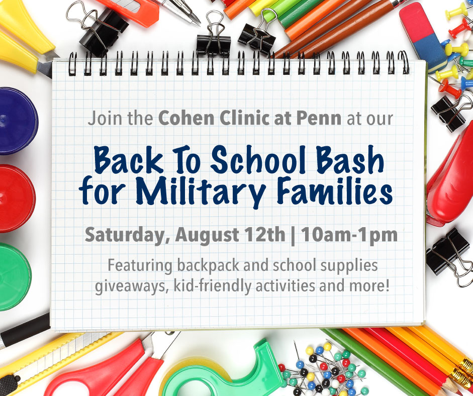Back to School Bash for Military Families