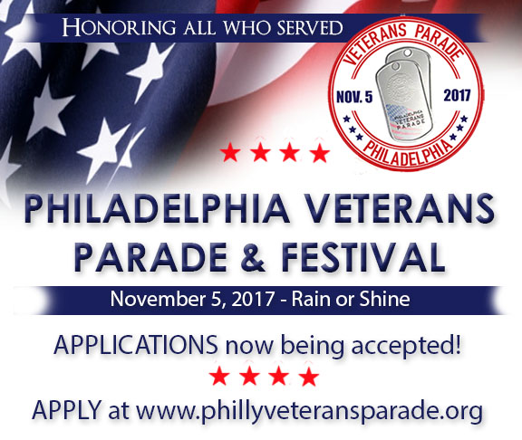 Philadelphia Veterans Parade - 3rd Annual