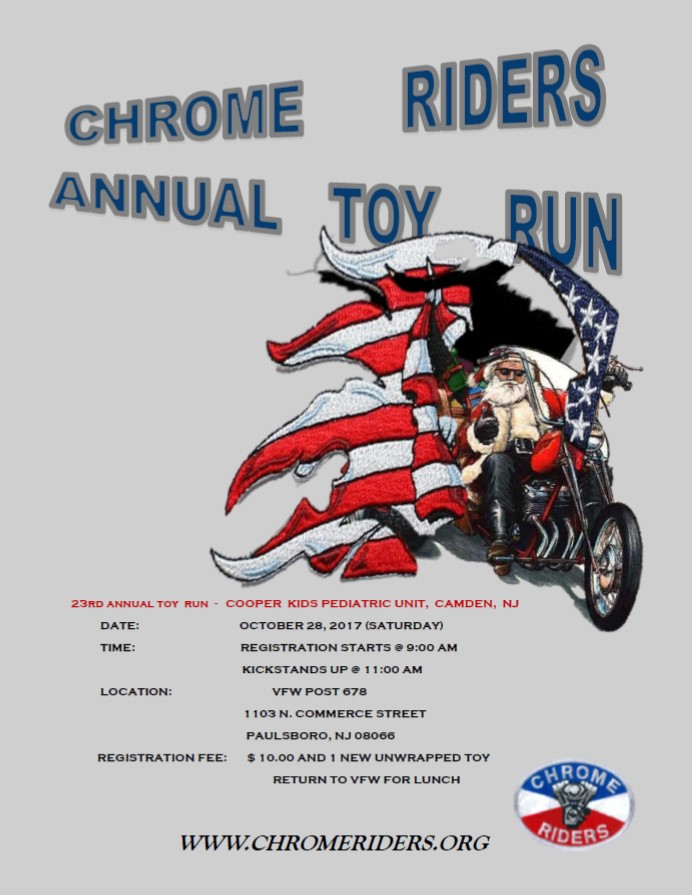 23rd Annual Cooper Kids Toy Run