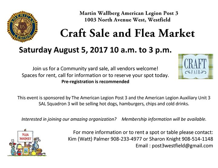 Craft and Yard Sale
