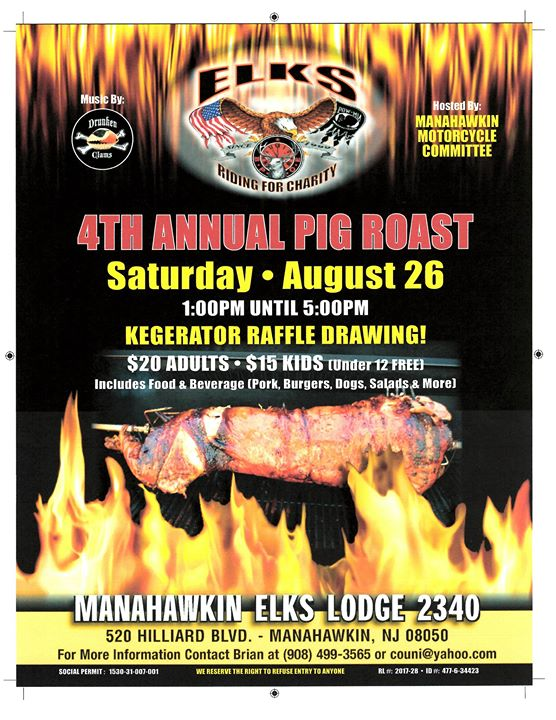 4th Annual Pig Roast