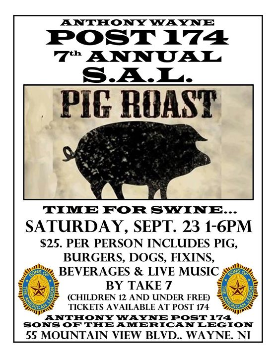 Sons of the American Legion Post 174 Pig Roast