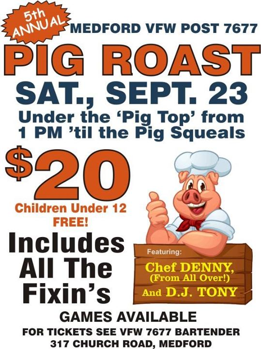 5th Annual PIG ROAST