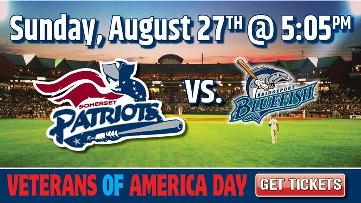 Somerset Patriots vs. Bridgeport Bluefish