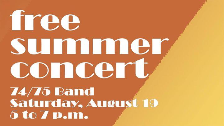 74/75 Band - Summer Concert