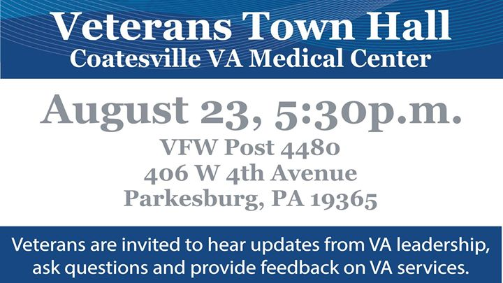 Veteran Town Hall - Parkesburg