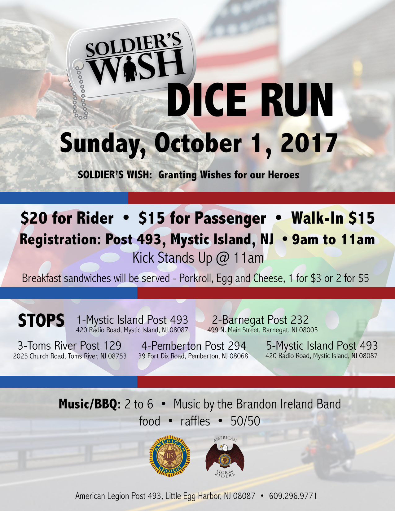 Soldier's Wish Dice Run