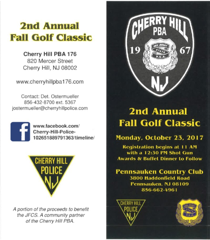 2nd Annual Golf Outing - Cherry Hill PBA